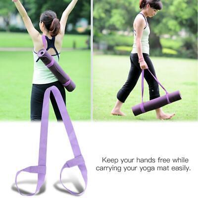 Yoga Mat Sling Carrier Shoulder Carry Strap Belt Exercise Stretch Adjustable  TO