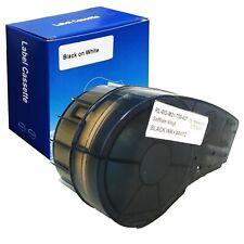 1 Pack For Brady M21 750 427 Label Cartridge34 Wblackwhite Bmp21 Plus