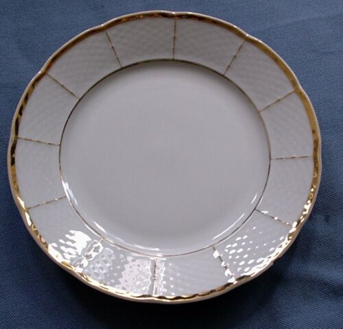 mit Goldrand Dessert-Teller sehr edel von Thun