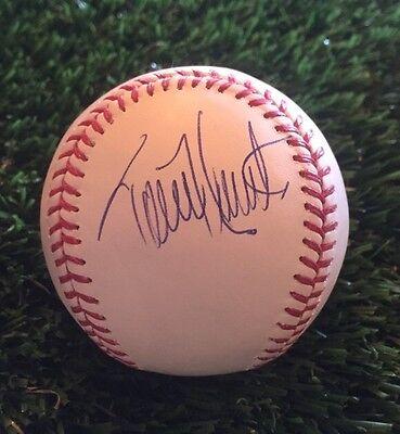 Torii Hunter Autographed Signed Omlb Baseball Psa/dna V78446 Sports Mem, Cards & Fan Shop Baseball-mlb
