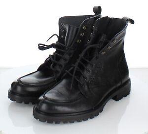 78-20-NEW-295-Men-039-s-Sz-9-M-Ankari-Floruss-Split-Leather-Toe-Boot-In-Black