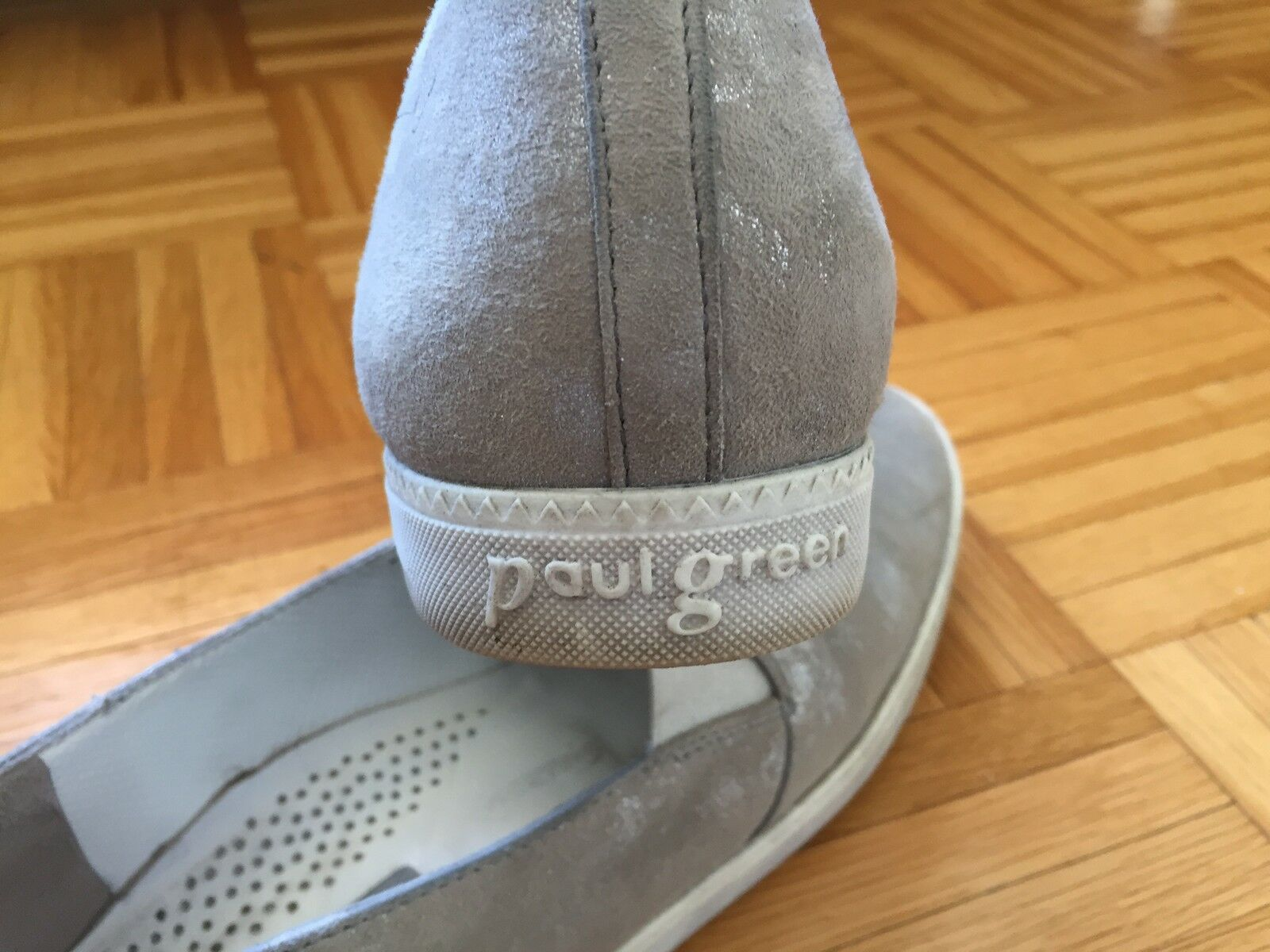 Paul Gr. Green Slipper Sneaker Halbschuh Gr. Paul 7 (40) 41fe49