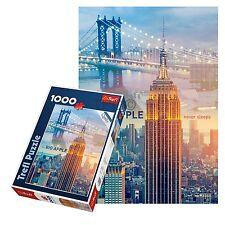 TREFL 1000 pezzi adulto grande New York Big Apple PONTE pavimento Puzzle NUOVO