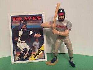1988 Ozzie Virgil Starting Lineup Baseball Figure Jouet Atlanta Braves Topps Carte-afficher Le Titre D'origine
