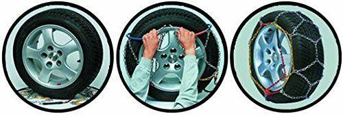2 Stück 1725003 Carpoint KN30 Schneeketten 12MM