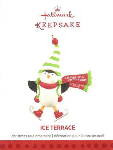 Hallmark 2013 Ice Terrace Kansas City Exclusive KC Ornament