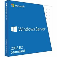 Microsoft Windows Server 2012 R2 Standard | Vollversion | Blitzversand