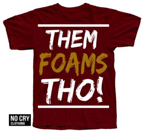 "/""Thoughs/"" LS T-Shirt in Foamposite Pro /""NIGHT MAROON/"" Colorway Foams 2016"