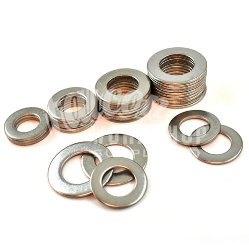 M8 PACK OF 100 8.4mm x 17mm A2 304 STAINLESS STEEL FORM B WASHERS DIN936 *