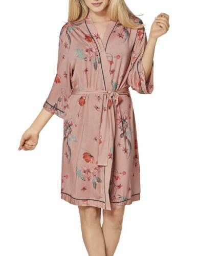 Triumph Amourette Spotlight Robe Dressing Gown 10198984 New Nightwear Pink Print