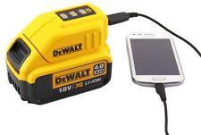 Dewalt DCB090 USB Ladegerät / Aufsatz für 18V Schiebeakkus; iphone, galaxy