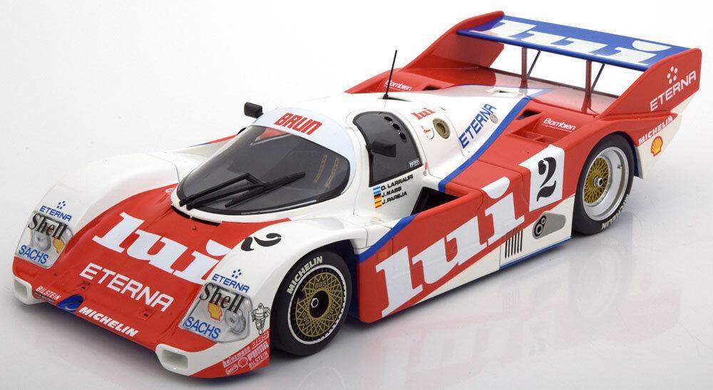 Minichamps Porsche 962 C 1000 km NURBURGRING 1987 Larrauri pareja  18 en masa