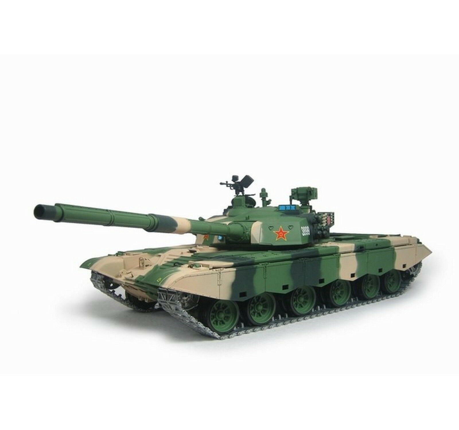 Torro 1 16 RC carro armato ztz-99 2.4ghz BB 1112238993 + catene di metallo