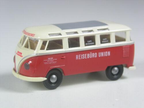Brekina VW t1 Samba sonderbus ufficio viaggi Unione in scatola originale Top