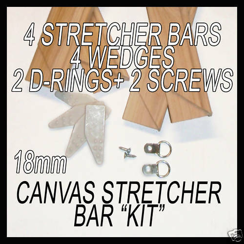 "Stretcher bar KIT  16x30/"",18x30/"" frames ALL U NEED"