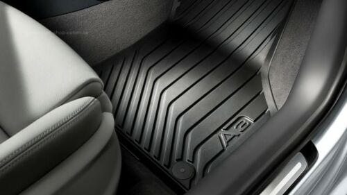 Original Audi A3 8V Original Gummifußmatten vorne Audi Original Gummifußmatten
