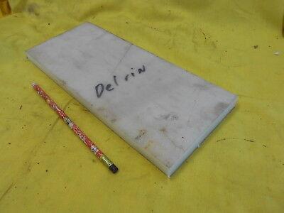 "BLACK DELRIN BAR machinable plastic flat sheet stock  5//8/"" x 1 /""x 12/"""