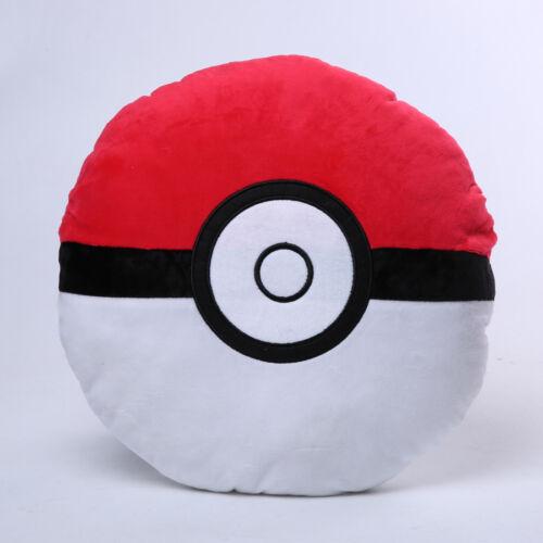 Pokemon Pokeball Plush Toys Sofa Car Throw Bed Soft Cushion Home Decor Kids Toys