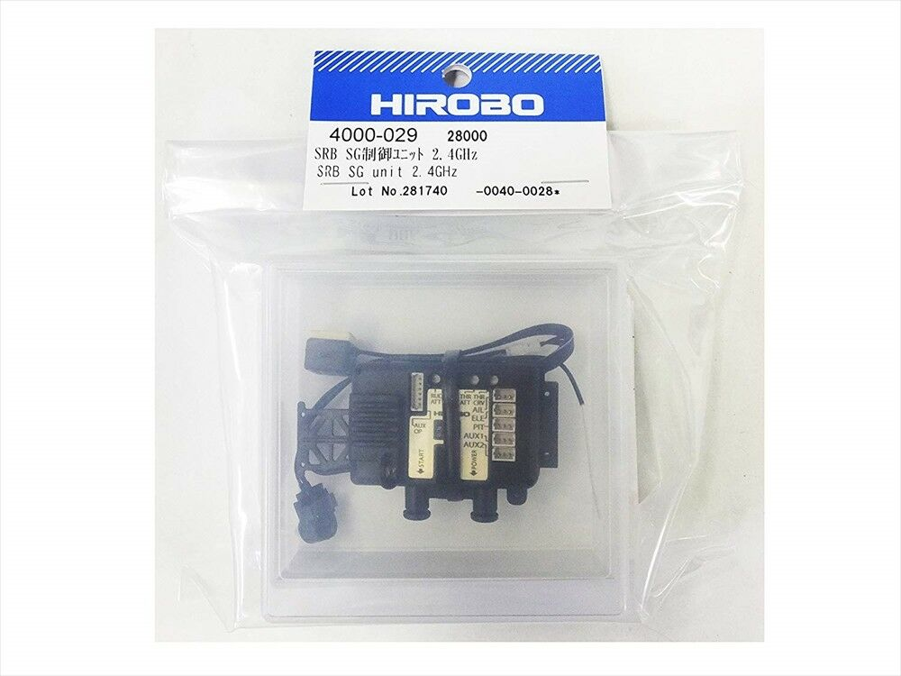 4000029 SRB SG Control Unit  2.4GHz HIROBO for S-FHSS Helicopter Parts Japan F S  Offriamo vari marchi famosi