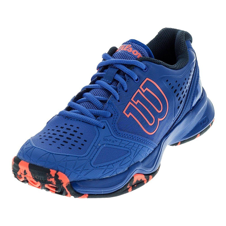 Zapatos Tenis Wilson Kaos Comp  Para Mujer Zapatillas-Púrpura-AUTH distribuidor-reg  100  muchas concesiones