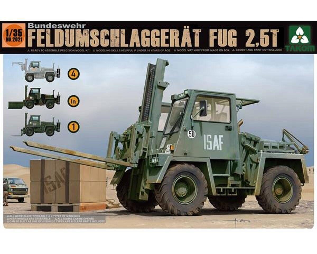 TAKOM BUNDESWEHR FELDUMSCHLAGGERAT FUG 2,5T 1 35 COD.2021