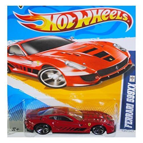 Hot Wheels 2012 HW All Stars Ferrari 599Xx 125 Diecast voiture jouet nouveau jeu