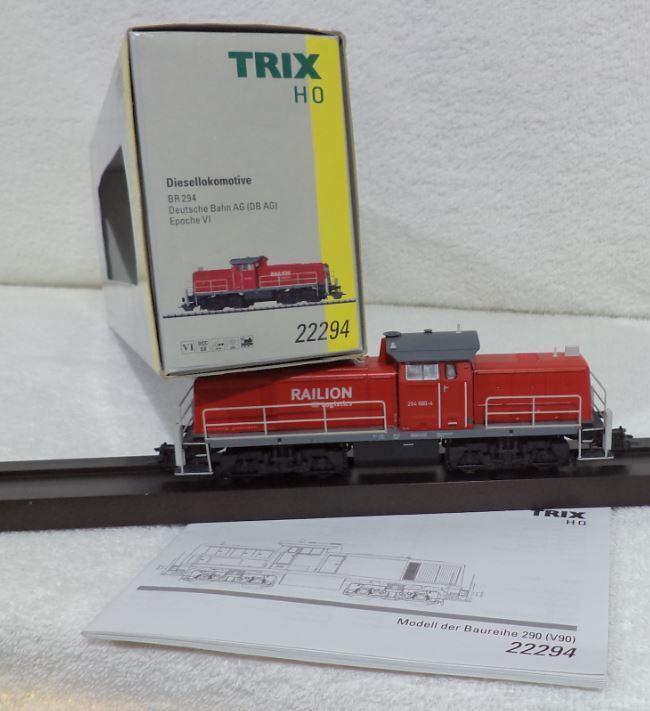TRIX 22294 BR 294 880-4 RAILION LOGISTICS DCC DIGITAAL TELEX koppelingen