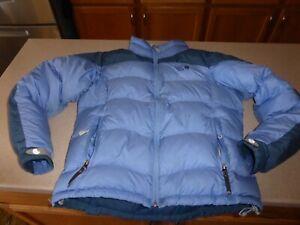 Mountain-Hardwear-Goose-Down-Jacket-Coat-Puffer-Blue-Womens-sz-M-Medium