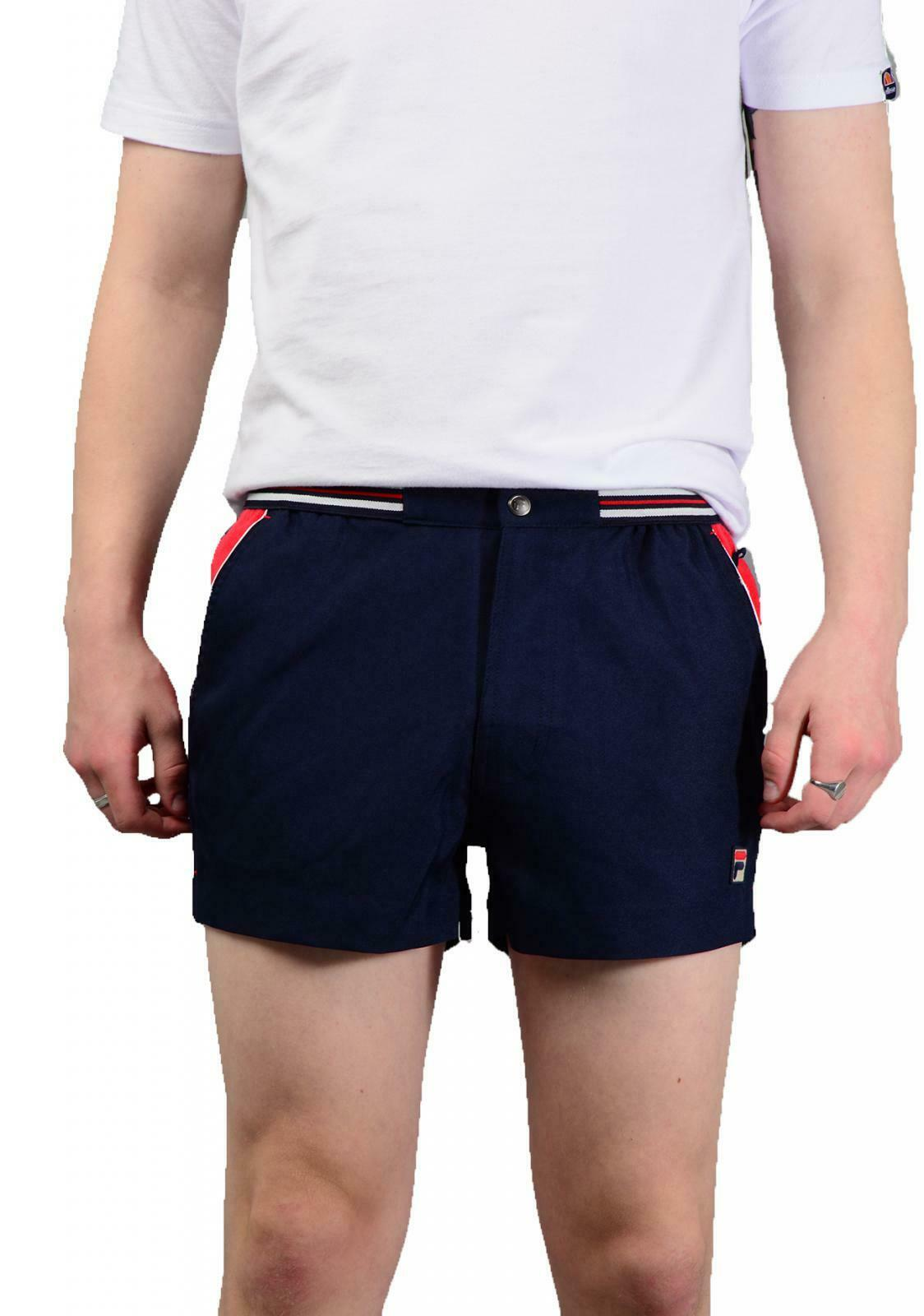 Fila Mens High Trade Shorts In Navy