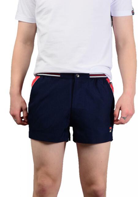 c9175c2d49db4 FILA Vintage Mens Hightide 4 Lm181k92 Shorts in Peacoat Blue Medium ...