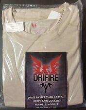 US MILITARY SURPLUS DESERT TAN SILKWEIGHT LONG SLEEVE DRIFIRE XXL