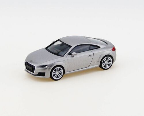 OVP Herpa 038355-h0 AUDI TT Coupé EISSILBER-metallico-NUOVO