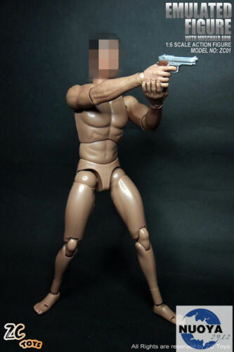 Zctoys 1:6 Male HG Muscular Body F Headsculpt With Neck New Dynastic Of Body Toy