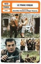 FICHE CINEMA : LE FRANC TIREUR - Léotard,Blain,Lumont 1972 Chinses Glory