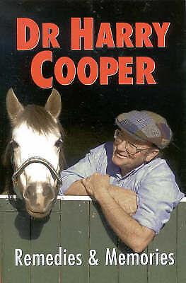 DR HARRY COOPER REMEDIES & MEMORIES  R.R.P. $30.00 PAPERBACK - FREE POSTAGE
