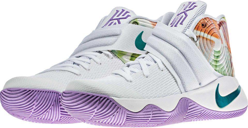 Mens Nike Kyrie II 819583-105 White Hyper Jade NEW Size 13.5