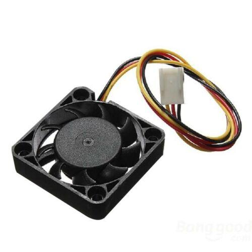 Mini fan 12 v 40 mm x 10 mm 3 pin 5082z