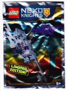LEGO® Nexo Knights™ Figur Steinstampfer Polybag Limited Edition NEU OVP 271722