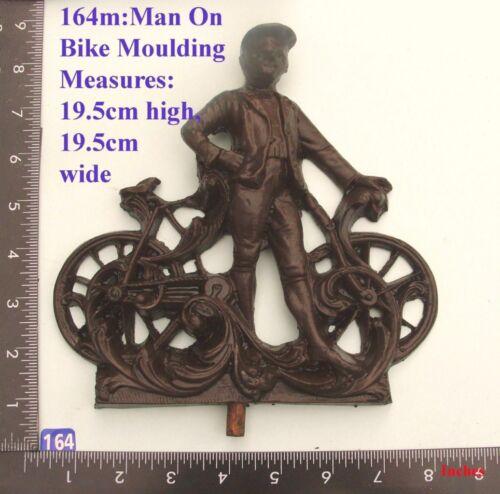 "furniture DIY 164M /""Man on Bike/"" top  clock case"