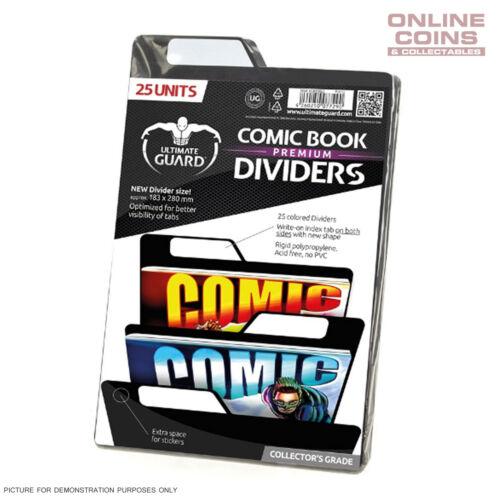 Ultimate Guard PREMIUM Comic Book Dividers BLACK