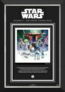 The Empire Strikes Back - Etched Autographs Ltd Ed /180 - Star Wars Photo