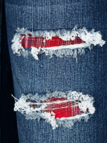 K-Gr Laura Kent Jeans Laura Slim mit Destroyed NEU!! blau KP 59,99 € SALE/%/%/%