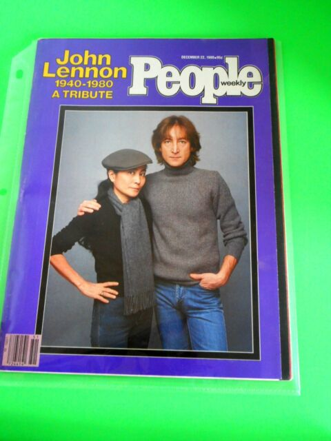 People Weekly December 22 1980 John Lennon Tribute Excellent