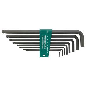 Stahlwille 96432601 10767 9   pcs Metric Ball End Hex L-Key Set 1.5-10mm
