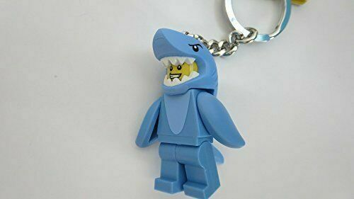 LEGO 853666 BLUE SHARK SUIT GUY MAN MINIFIGURE KEYCHAIN *NEW*