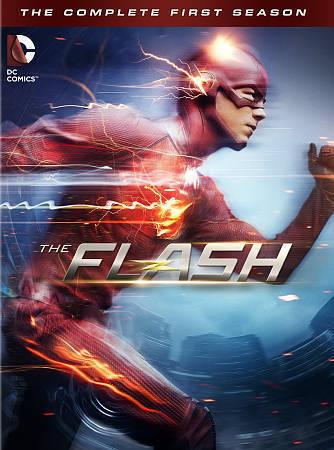 The Flash: Season 1  (DVD, 2015) New,shrink wrap torn
