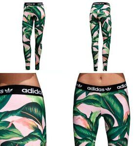 a15995d8dbb7d Adidas X Farm Leggings Womens Trefoil Logo Multi Color DH3065 Extra ...