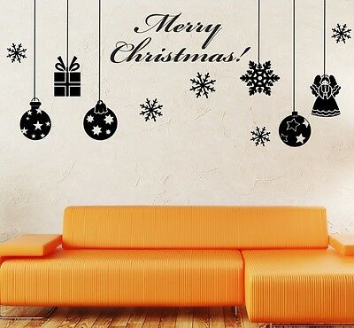Christmas Wall stickers Quotes - Window - Shop Wall Quote- Wall Art Decor Svil72