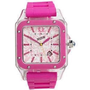 Urbanz Rosado fuerte fashion mujer reloj
