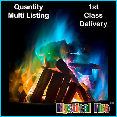 Luminosa Mystical Fire Magic Fiamme Colorate Colore Cambiare Fire Pit Bonfire Bruciatore Bustine- Prezzo Ragionevole